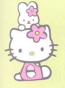 New Cricut Hello Kitty #12 with Rabbit Die Cut