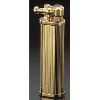 Corona Delgado Gold Plated Engine Turned Stripes Cigarette