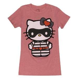 Fine Hello Kitty Standing Bandit Tee Shirt Junior Everything Else