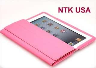NTK PREMIUM IPAD 2 CASE IN APPLE SMART COVER PINK NEW