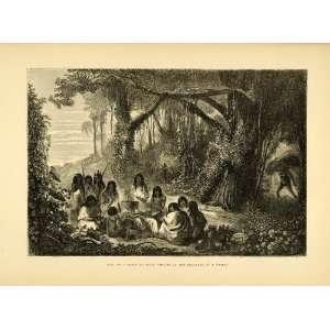 Indians Ashaninka Indigenous Party Tribe Peru Forest   Original