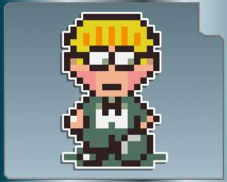 EARTHBOUND Jeff vinyl decal laptop car stickers Mother