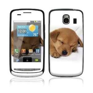 LG Vortex (VS660) Decal Skin   Animal Sleeping Puppy