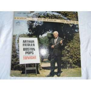 Arthur Fiedler Boston Pops Tonight LP Music