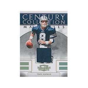 Troy Aikman 2008 Donruss Threads Century Collection Materials