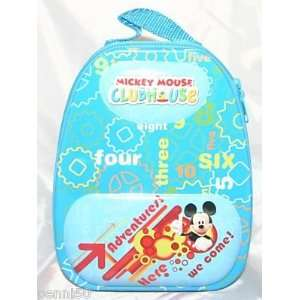 Mickey Mouse Clubhouse Backpack Style Metal Tin Lunch Box
