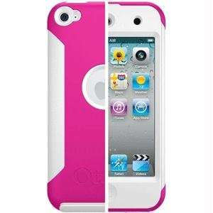 New OtterBox Commuter Series Apple iPod Touch 4th Gen   Hot Pink/White