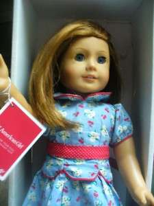 BEAUTIFUL AMERICAN GIRL DOLL EMILY IN BOX WITH BRUSH EUC *JUST