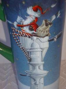 Department 56 Christmas Santa Tall Coffee Mug (s) Great