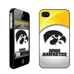 University of Iowa iPhone Hard Case #2   (Tiger Hawk White