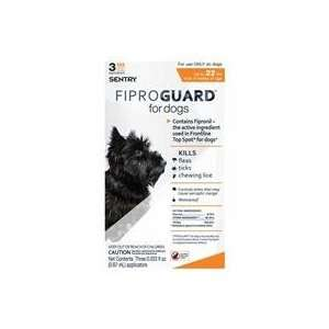 FIPROGUARD SQUEEZE ON FOR DOGS, Color 3 MONTH; Size 22