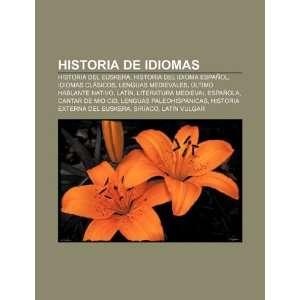 Historia de idiomas Historia del euskera, Historia del