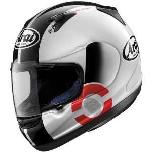 Arai DNA RX Q Full Face Motorcycle Helmet w/ Free B&F Heart Sticker