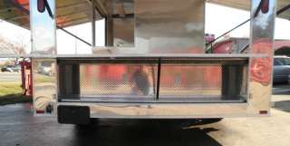 New 8.5 x 18 PIZZA BBQ FOOD OUTSIDE SERVING CONCESSION TRAILER |