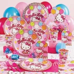 Hello Kitty Birthday Party Plates Napkins Cups Pinata +