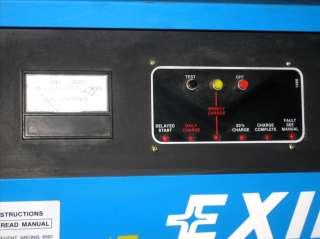 EXIDE SYSTEM 1000 G1 12 865 FORKLIFT CART BATTERY CHARGER 24V 865AH 12