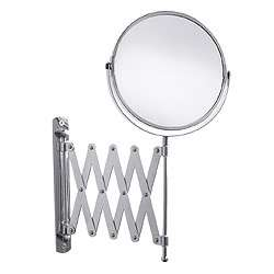 IKEA Frack Magnifying Space Saver Expanding Wall Mirror
