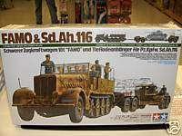 TAMIYA 1/35 GERMAN HALF TRACK FAMO AND SD.AH.116 MODEL