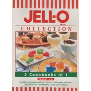 Jello O Brand Collection   3 Cookbooks in 1 Jello O Brand