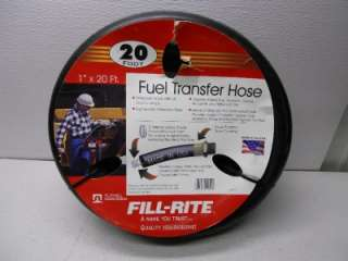 FILL RITE FUEL TRANSFER HOSE 1X20