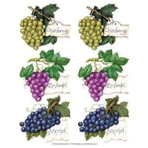 GRAPES Wine kitchen decor Tile decal WALL Decoration