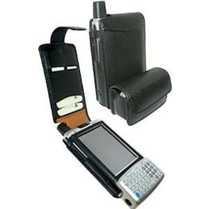 PIELFRAMA High Quality Cowskin Leather PDA Case   Black