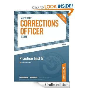 Master the Corrections Officer: Practice Test 5: Petersons: