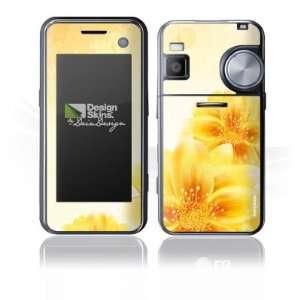 Design Skins for LG KF700   Yellow Flowers Design Folie Electronics