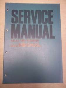 Vtg Akai Service/Repair Manual~ 1800L Tape Recorder Original