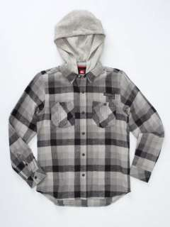 NWT QUIKSILVER CHAPPY PLAID FLANNEL SHIRT BOY 2T 3T 5