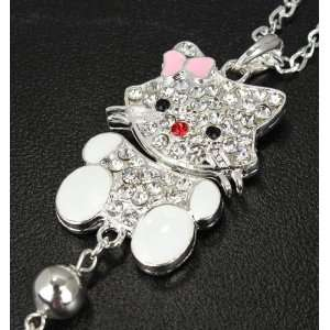 Miss Peggys   Hello Kitty P 23w Large Bling Hello Kitty