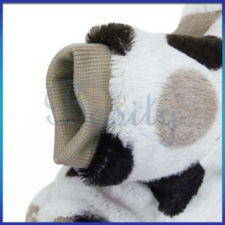Pet Dog Doggie Hooded Coat Winter Warm Costume Clothes Parka Fluffy