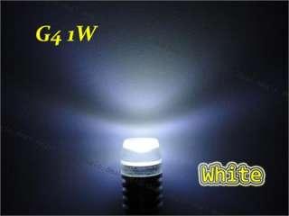 1W 12V G4 Bi pin Base SMD LED Cool White Light Bulbs