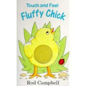 Fluffy Chick (Touch and Feel) Rod Campbell 9780333674864
