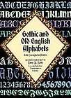 gothic and old english alphabets 100 complete fonts expedited shipping