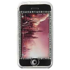 PCMICROSTORE brand Apple iPhone Diamond Translucent Clear