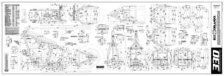 Custom Chopper Softail Frame Blueprints   330 Series Tire
