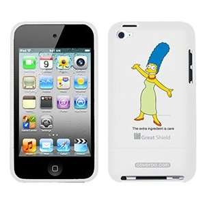 Marge Simpson on iPod Touch 4g Greatshield Case
