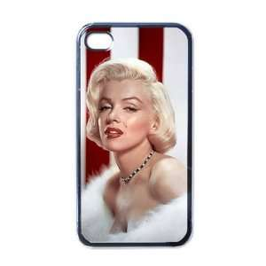 Marilyn Monroe Apple iPhone 4 or 4s Case / Cover Verizon or At&T Phone