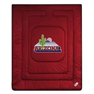 Arizona Wildcats Bedding   NCAA Comforter