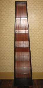 Ethan Allen Country Colors Black Obelisk Bookcase