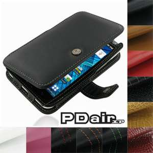 Genuine Leather Book Case for Samsung Galaxy S WiFi 5.0 YP G70 Galaxy