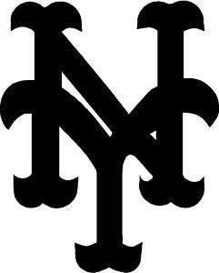 New York Mets NY Logo   Vinyl Decal Sticker   Many Size