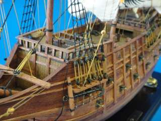 Spanish Galleon 23 Wooden Ship Model 1:80 Sail Boat