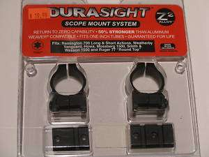 NEW Durasight Scope Ring Base/Reciever Mount (YOU PICK)