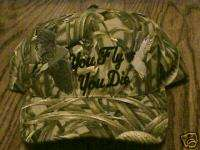 YOU FLY,YOU DIE GOOSE &DUCK HUNTING CAMO CAP PATCH