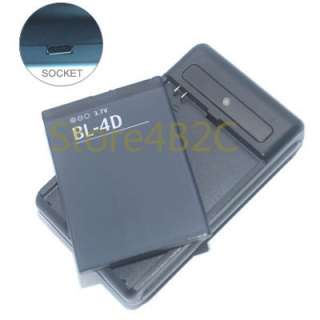 Desktop Charger + Battery For BL 4D Battery NOKIA N97 Mini