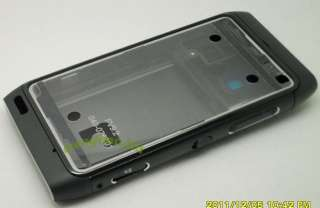 Original Black Housing Cover Case For Nokia N8 + Free Tools
