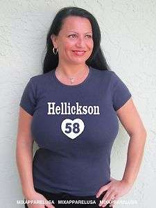 Womens Cute Jeremy Hellickson Rays T Shirt Jersey Sizes Small  thru
