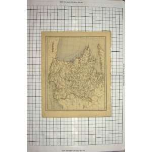GELLATLY ANTIQUE MAP FRANCE MEDITERRANEAN BAY BISCAY: Home